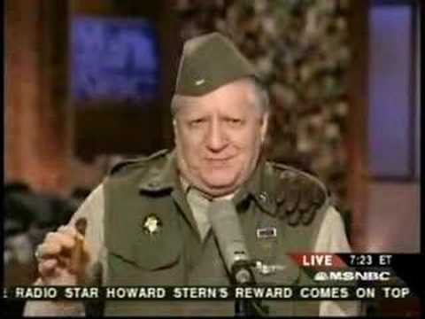 General George Patton Talks About Iraq War