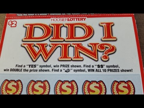 DID I WIN? Indiana Lottery Scratch Off Tickets