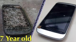 Restoration an Nokia phone abandoned | 7 Year old phone restore |Mobile restoration