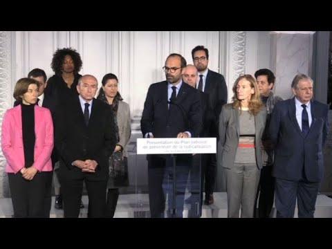 Philippe: 1.500 places pour isoler les détenus radicalisés