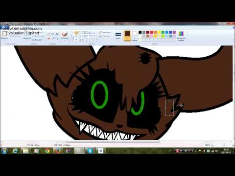 fnaf oc commission speedpaint