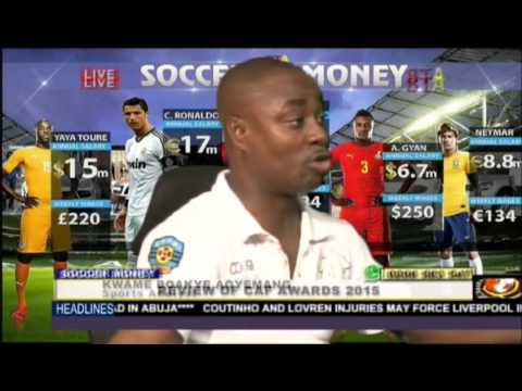 Review Of CAF Awards 2015