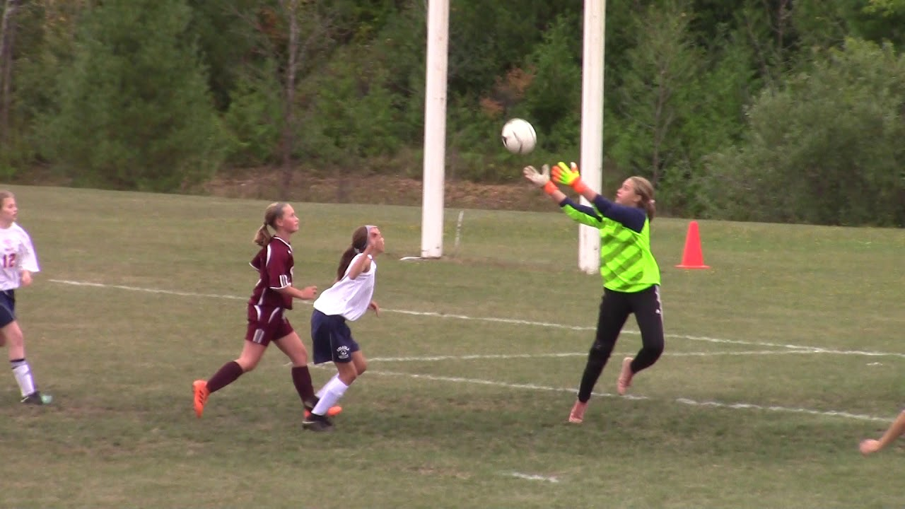 NCCS - AuSable Valley JV Girls  9-19-18