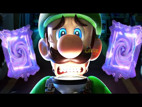 СУПЕР МАРИО ЛУИДЖИ МЕНШН  #1 мультик игра для детей Детский летсплей на СПТВ Luigi Mansion 3