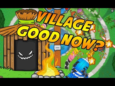 VILLAGE AWESOME NOW? - Bloons TD Battles