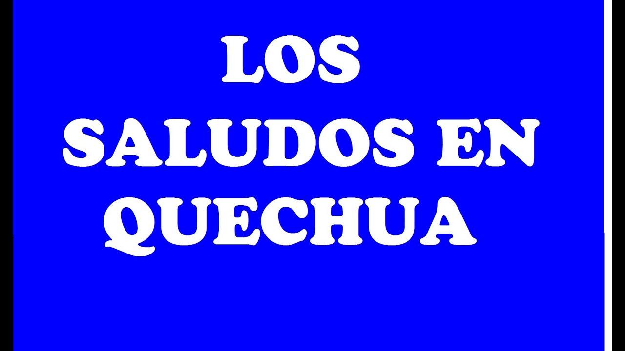 Como se escribe feliz dia papa en quechua
