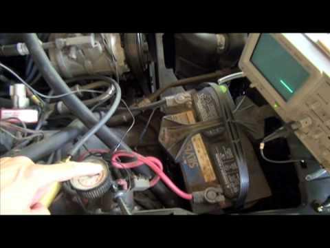 1982 Ford EEC-III code reading