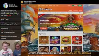 LIVE CASINO GAMES - New !giveaway up - !feature to win €€€ 👏👏 (21/11/19)