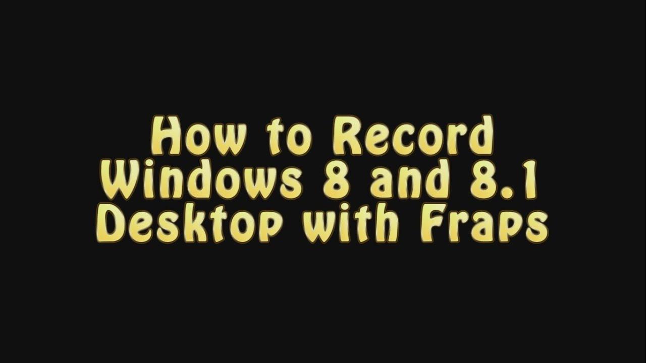 fraps windows 98