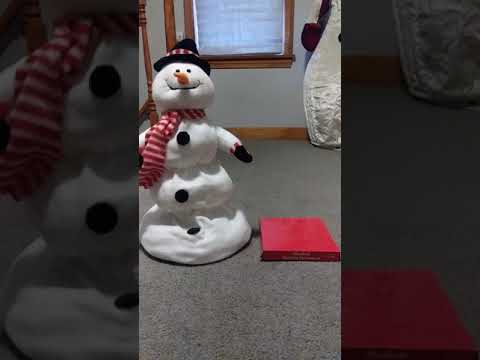 """(Hallmark exclusive) animated melting """"musical motion snowman"""""""