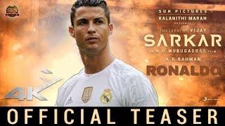 Sarkar - Ronaldo Version   Cristiano Ronaldo   Sun Pictures   A.R Murugadoss   A.R. Rahman