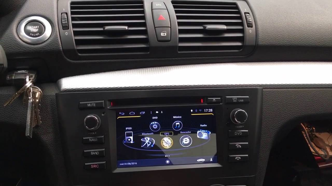 AX-M170 Equipo multimedia Android para BMW Serie 1 - YouTube