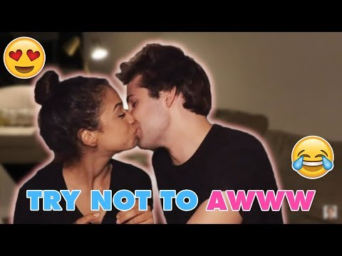 TRY NOT TO AWW!! LIZA KOSHY AND DAVID DOBRIK CUTE MOMENTS [PART 1]