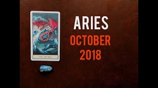 Aries ♈ October 2018 | Something Coming to Light |