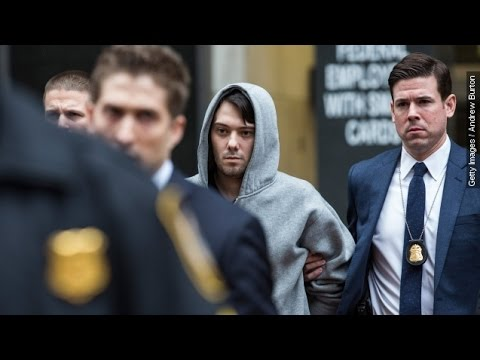 Hated 'Pharma Bro' Who Spiked HIV Drug Price Arrested On Fraud Charges - Newsy