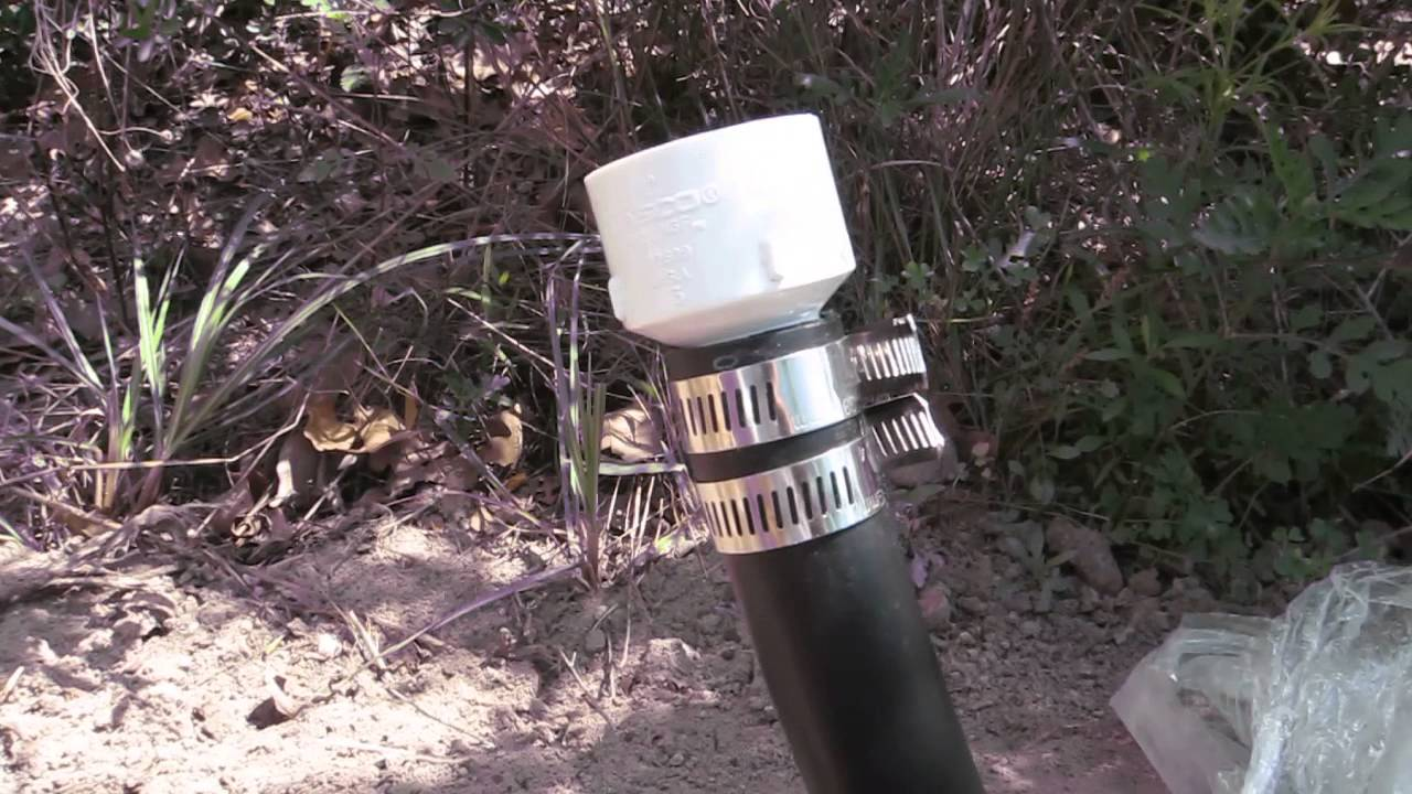 How to Connect Poly Flexible Pipe to PVC Irrigation Wat ...