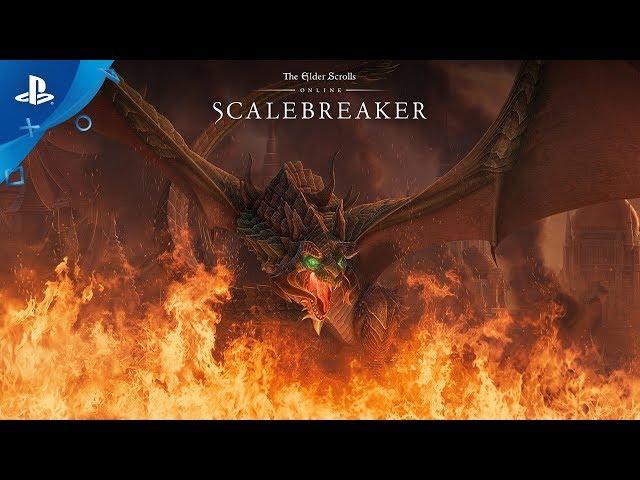 The Elder Scrolls Online: Scalebreaker - Official Trailer | PS4