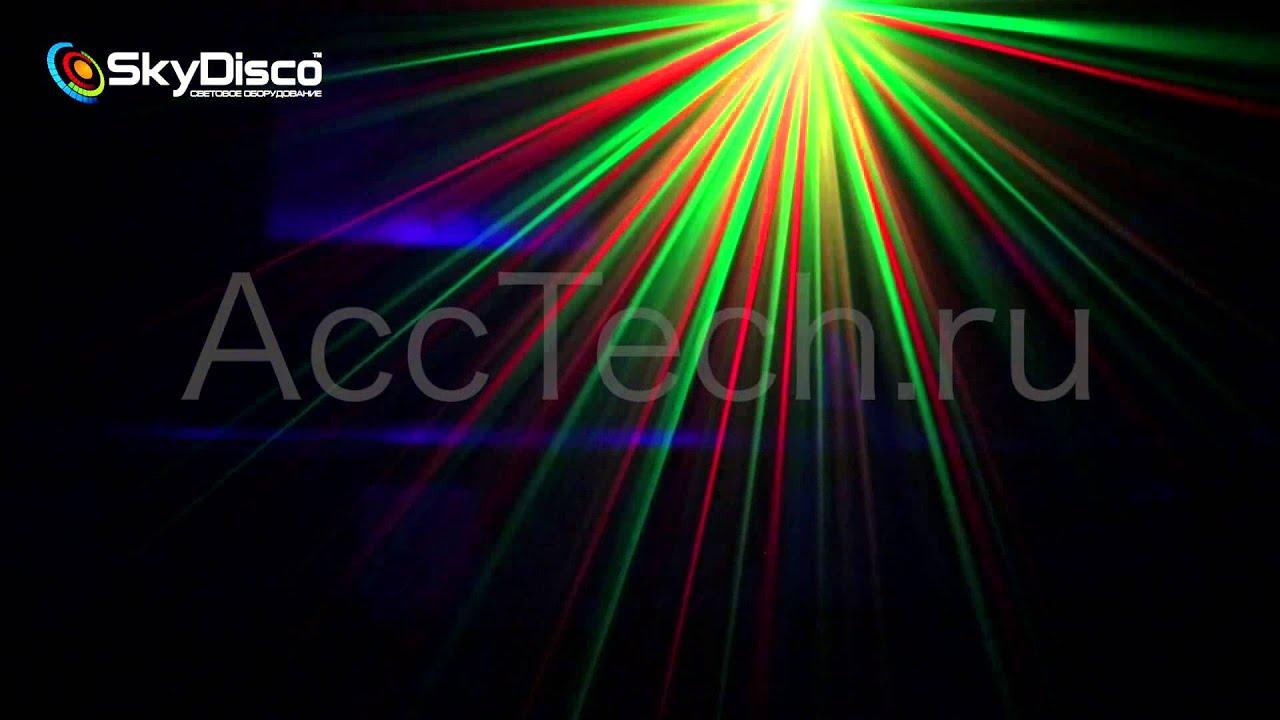 Лазерная цветомузыка для дома Sky Disco Point Magic AccTech.ru
