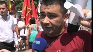 Altercaţii la Bălţi  , Voievod  la proteste  în susţinerea  statalităţii Republicii Moldova2013