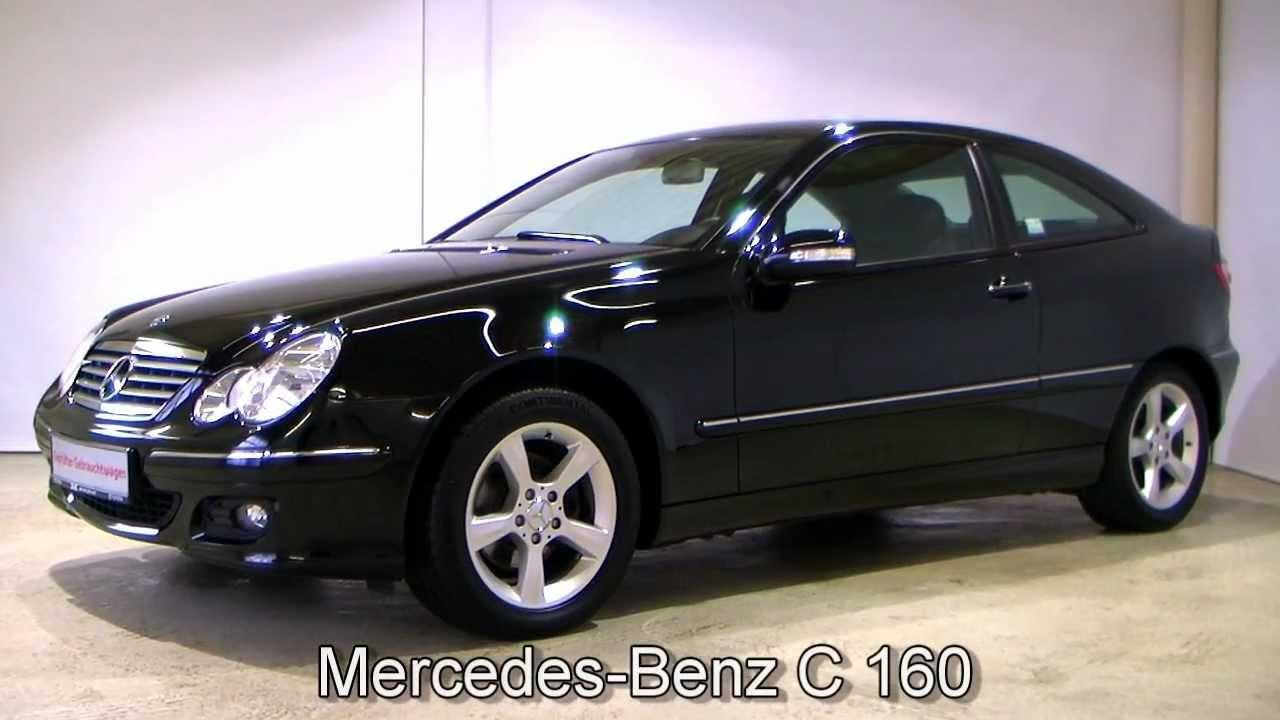 mercedes benz c 160 automatik getriebe sportcoupe 917792. Black Bedroom Furniture Sets. Home Design Ideas