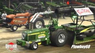 2016 Western Farm Show Outlaw 8,200lb Diesel Super Stock Tractors