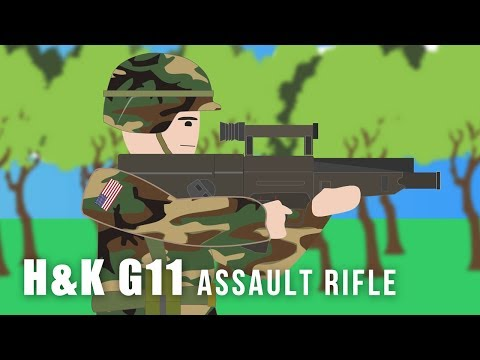 Heckler & Koch G11 - Assault Rifle (Prototype Weapon)