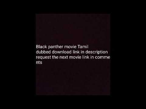 Tamil Black Panther Dubbed Movie Link Youtube