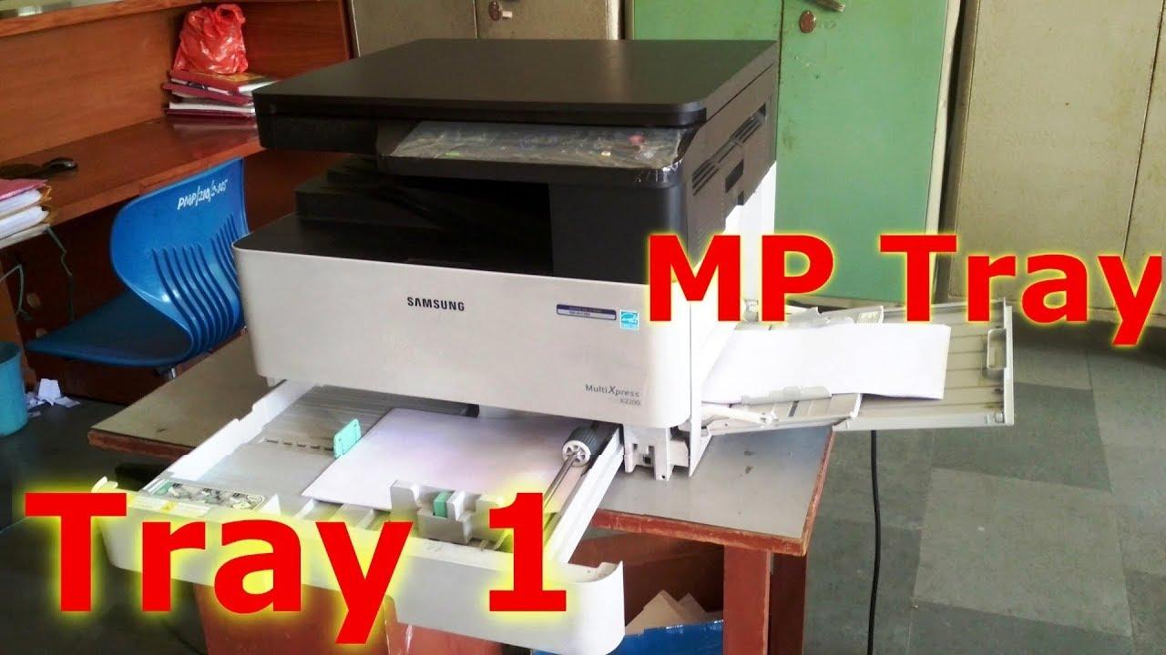 Mp Tray Size
