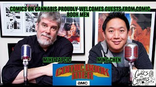 Comics On Cannabis talks to AMC Comic Book Men stars Ming Chen and Mike Zapcic.