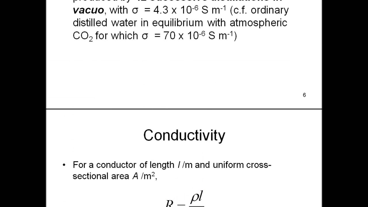 conductivity vs molarity essay 1 measurement and analysis 12 solutions 2 scientific analysis and significant figures 13 solubility equilibrium 3 elements, compounds, and mixtures 14.