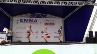 FRAULES Dance Centre girls performing with dancehall & booty dance/twerk show
