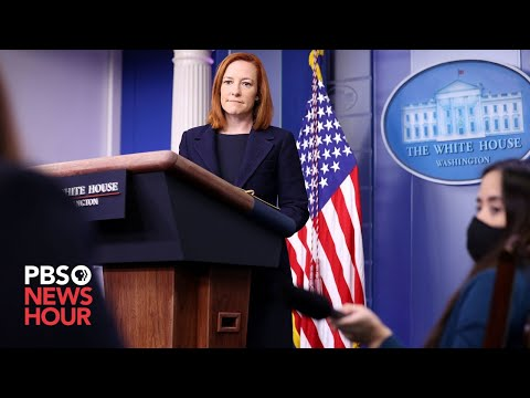 WATCH LIVE: White House press secretary Psaki holds news briefing