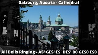 The Bells of Salzburg Cathedral, Austria.