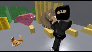 Roblox: Tutorial: como assaltar um banco no Roblox! ( Rob The Bank Obby!)