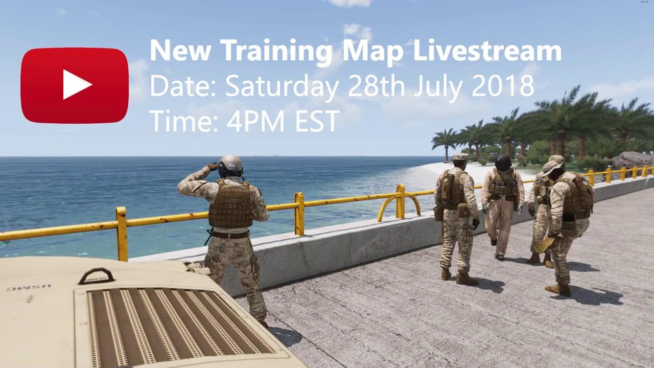 New Training Map Livestream Teaser