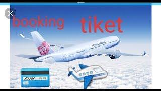 Melihat Harga tiket & Boking /Memesan tiket pesawat Online China Airlines