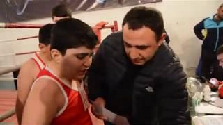 Открытый турнир по боксу Гегаркуникской области 54кг Мгер Бадоян(Мартуни)-Армен Согомонян(Ехегнадзор