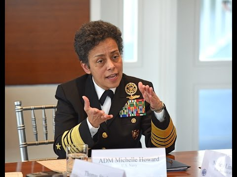 U.S. Navy Admiral Michelle Howard on Women, Peace, and Security