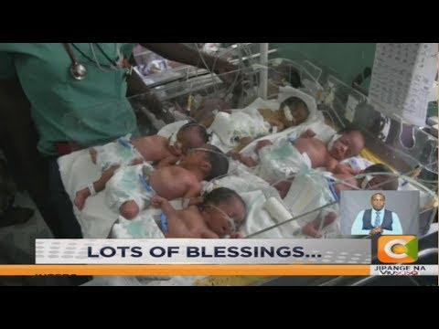 Kakamega mum gets five babies at once