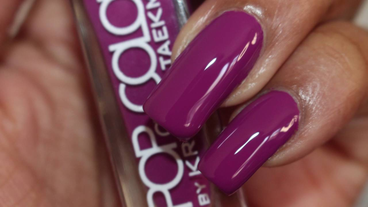 Pop Of Color By Kristen Taekman Nail Polish Review And Live Swatches