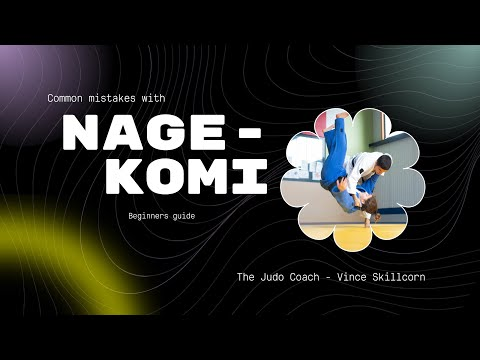 Beginner Judo - common mistakes with Nage Komi