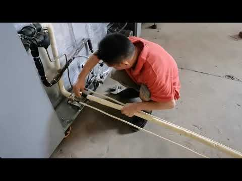 How to install HM25 one shot producetion line-3