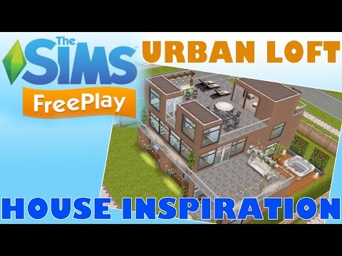 Sims Freeplay | Urban Loft | House Inspiration