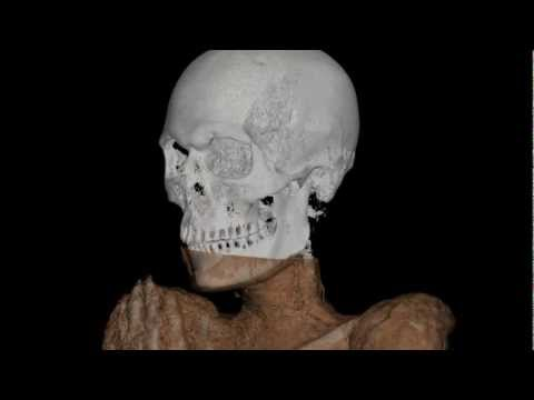 Egyptian mummy CT scan video, Smithsonian's National Museum of Natural History