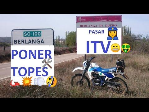 Cómo pasar ITV a moto CICLOMOTOR y PONER TOPES 45 Km/h máximo