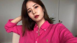 핑쿠색 폴로 셔츠 • 좋아하는 향수와 함께하는 겟레디윗…