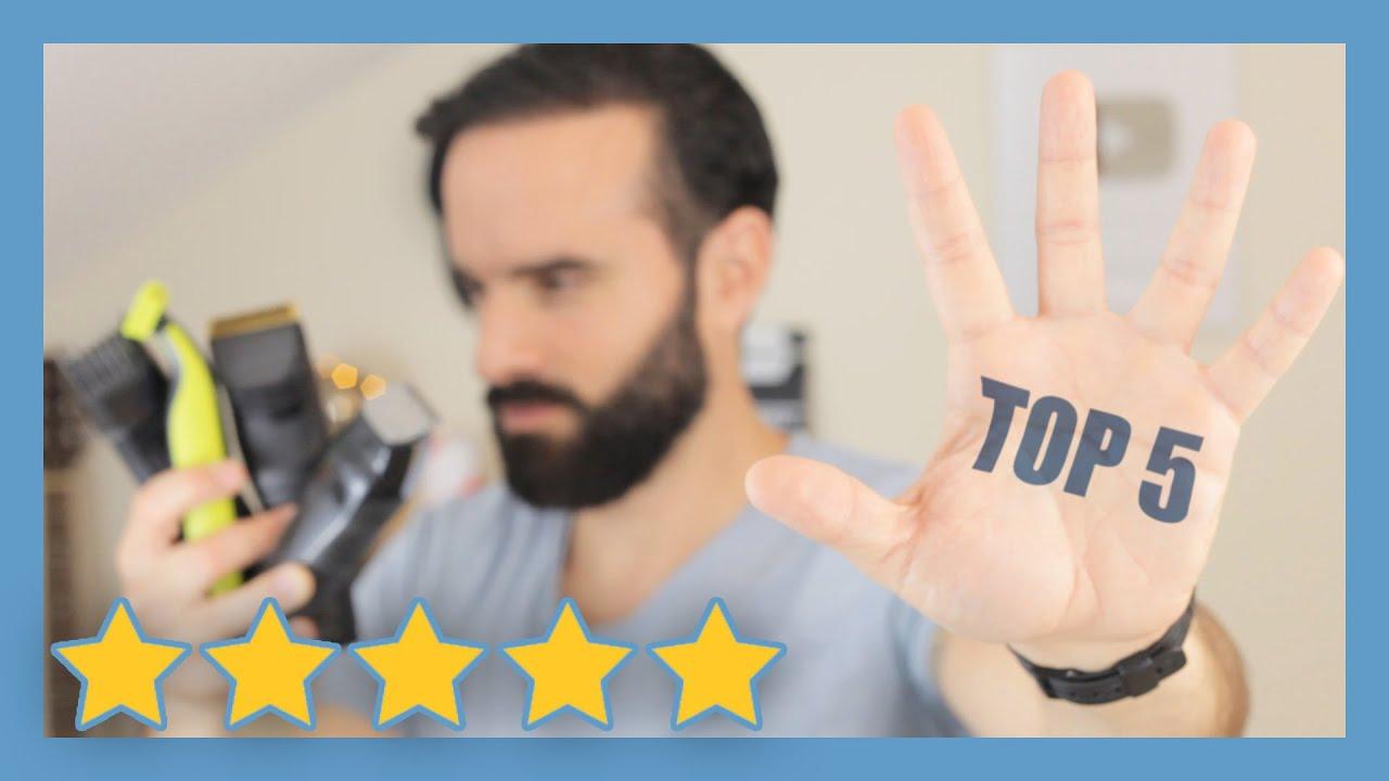 mon top 5 des meilleures tondeuses pour tailler sa barbe youtube