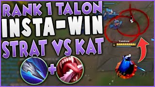 This Talon Strat Insta-Wins the Kat Matchup | Challenger Talon Mid Gameplay