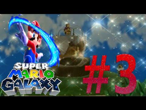 Super Mario Galaxy 100% - Part 3 | Honeyhive Galaxy Stars ...