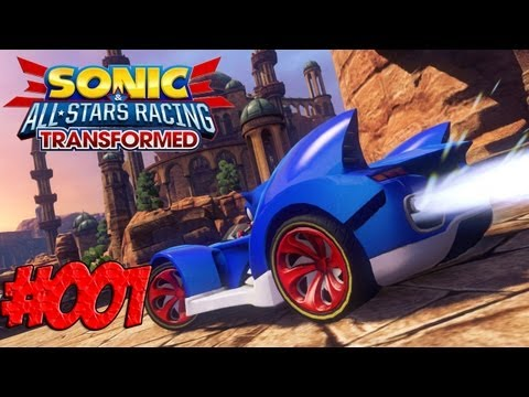 Lets Play Sonic & All Stars Racing Transformed - Part 1 - LOOOS!